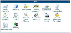 Hostgator Cpanel Email Section