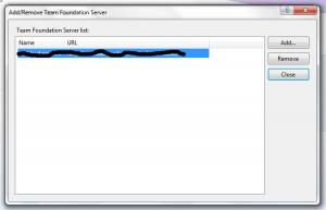 Managing TFS Servers