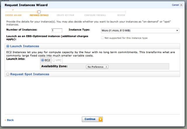 Amazon EC2 Linux Instance Details