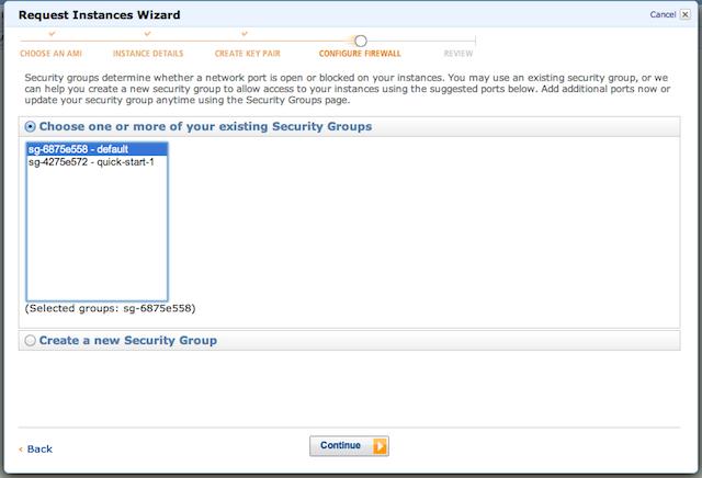 EC2 Instance Firewall Configuration