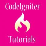 PHP CodeIgniter Tutorials For Developers