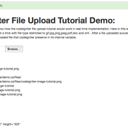 codeigniter file upload tutorial